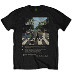 T-shirt The Beatles Abbey Road 8 Track
