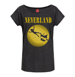T-shirt Peter Pan Neverland da donna