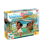 Vaiana - Puzzle Double-Face Supermaxi 108 Pz - In Azione