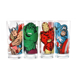 Marvel - Characters (Set 4 Bicchieri)