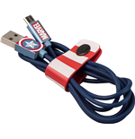 Marvel - Captain America - MFi Lightning Cables 1,2 Mt