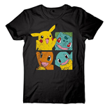 Pokemon - Frontprint Black (T-SHIRT Unisex )
