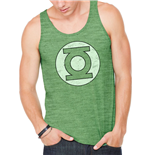 Green Lantern - Distressed Logo (vest Unisex )