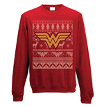 Felpa Wonder Woman - Fair Isle Logo