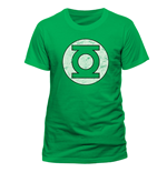 T-shirt Green Lantern - Distressed Logo
