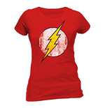T-shirt Flash - Logo da donna