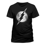T-shirt The Flash - Logo Mono Distressed