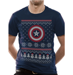 T-shirt Captain America - Ca Fair Isle