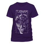 T-shirt Batman - The Joker Purple