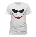 T-shirt Batman - Joker Smile Outline