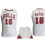Chicago Bulls Mini Kit Gasol Bianco