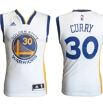 Golden State Warriors Canotta Curry Bianca
