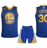 Golden State Warriors MINI-KIT Curry Azzurro