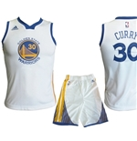 Golden State Warriors MINI-KIT Curry Bianco