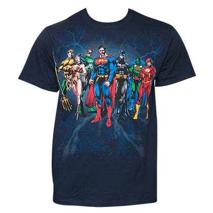 T-shirt Justice League da uomo