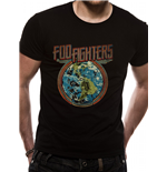 Foo Fighters - Globe (T-SHIRT Unisex )