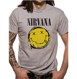 T-shirt Nirvana - Smiley Splat