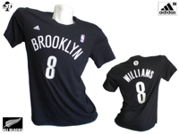 Brooklyn Nets T-SHIRT Numerata Williams