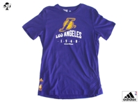 Los Angeles Lakers T-SHIRT Bambino Viola