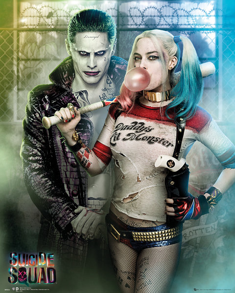 Mini Poster Suicide Squad Joker And Harley Quinn