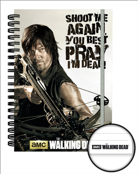 Quaderno The Walking Dead Crossbow A5