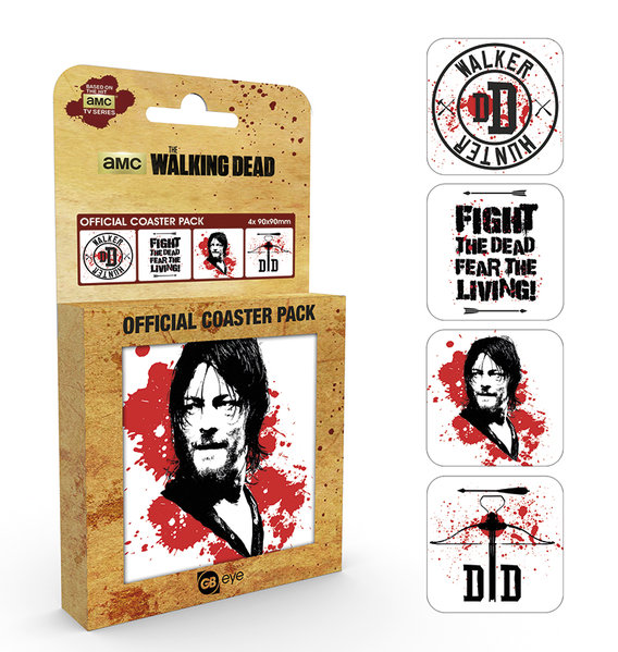 Set Sottobicchieri The Walking Dead Daryl