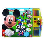 Giga Blocks 5 in 1 Mickey Mouse