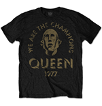 Queen - We Are The Champions (T-SHIRT Unisex )