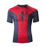 Spiderman - Big Spidey Logo Sport Blue (T-SHIRT Uomo )