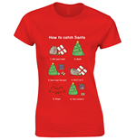 T-shirt Pusheen How To Catch Santa
