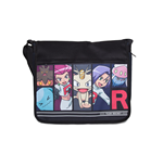 Pokemon - Team Rocket Multicolor (Borsa A Tracolla)