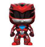 Pupazzo Power Rangers POP! Red Ranger 9 cm