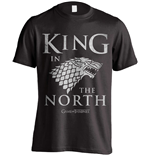 T-shirt Il trono di Spade (Game of Thrones) King In The North