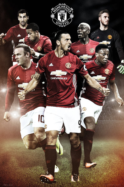 Poster Manchester United Players