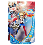 Mattel DMM36 - Dc Super Hero Girls - Small Doll 15 Cm Harley Quinn