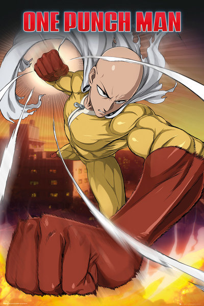Poster One-Punch Man 249341