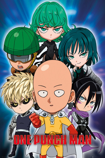 Poster One-Punch Man 249342
