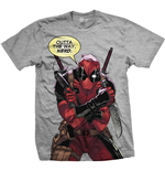T-shirt Marvel Superheroes Deadpool Nerd