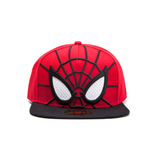 Spiderman - 3D With Mesh Eyes Caps Red (Cappellino)