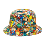 Pokemon - Rain Hat With Characters (Cappellino)