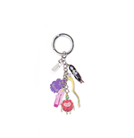 Adventure Time - Princesses With Charms Multicolor (Portachiavi In Metallo)