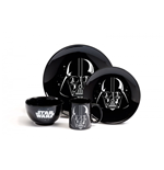 Star Wars - Logo (Dinner Set 4 Pezzi)