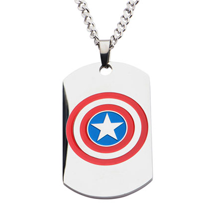 Dog Tag Captain America
