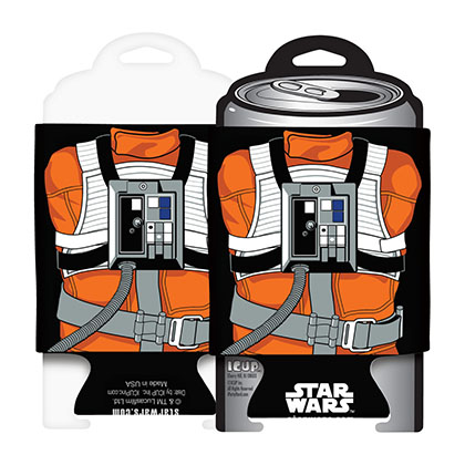 Koozie Star Wars Luke Skywalker Pilota X-Wing