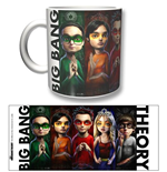 Big Bang Theory (The) - Heroes (Tazza)