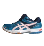 Scarpa Volley GEL-ROCKET 7 AZZURRO-ARANCIO