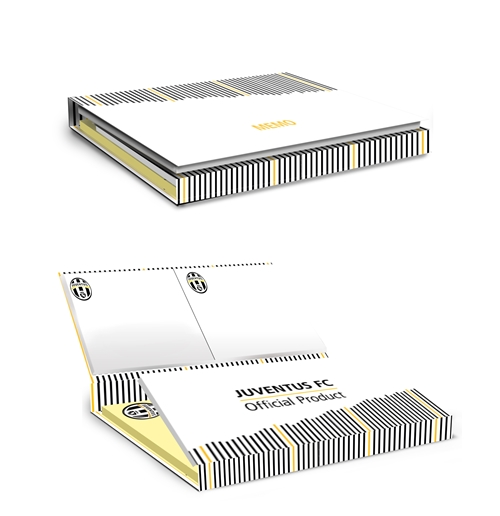 "Sticky Notes ""White"" Juventus"