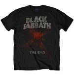 Black Sabbath - The End Mushroom Cloud Red (T-SHIRT Unisex )