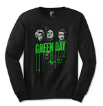 Green Day - Drips (T-SHIRT Manica Lunga Unisex )