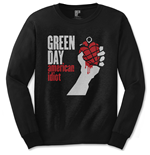 Green Day - American Idiot (T-SHIRT Manica Lunga Unisex TG. 2)